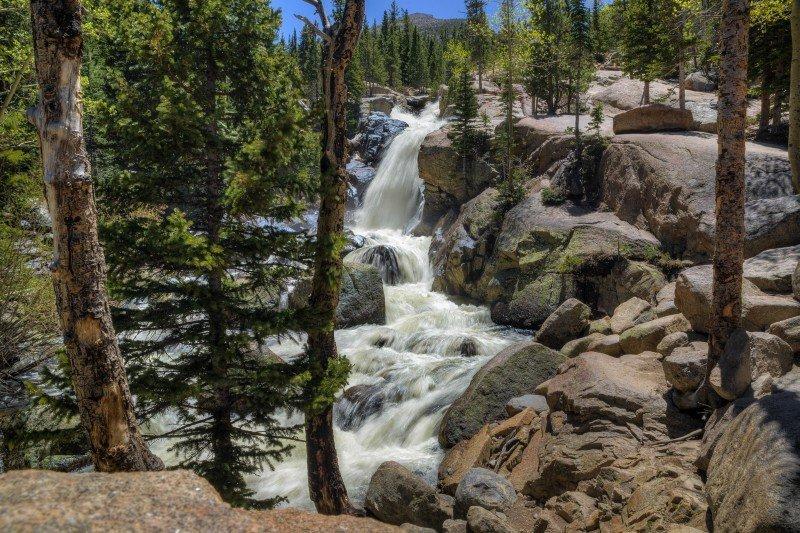 Alberta Falls Trail Estes Park Vacation