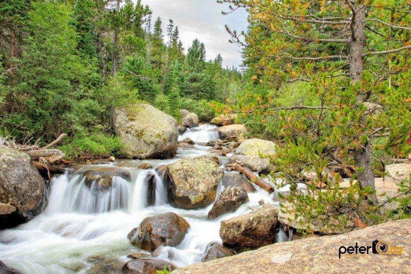Copeland Falls Trail Estes Park Vacation Lodge