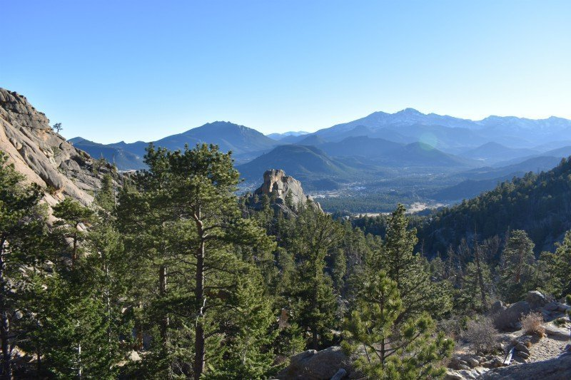 View_from_Gem_Lake_Trail_Estes Park Vacation