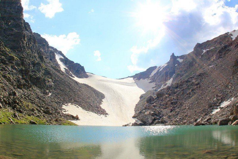 Andrews Tarn & Andrews Glacier_Estes Park Vacation