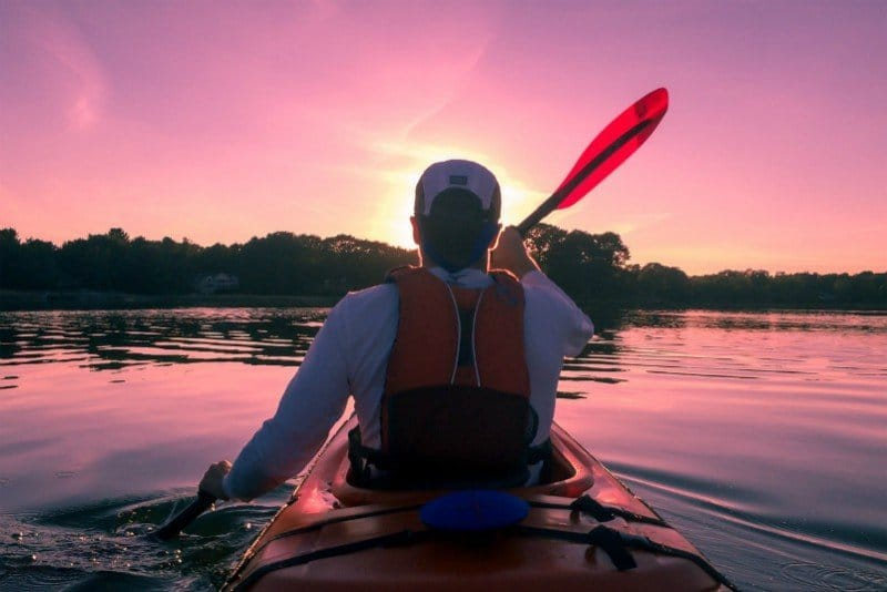 Kayaking Estes Park Vacation